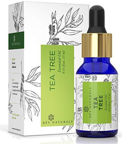 Rey Naturals Tea Tree Essential Oil, 15 ml