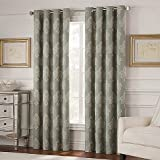 Valeron Belvedere Grommet Top Room-Darkening Window Curtain Panel in 95'' Panel, Spa
