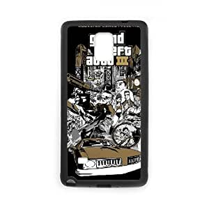 grand theft auto chinatown wars Samsung Galaxy Note 4 Cell Phone Case Black Customize Toy zhm004-7397441