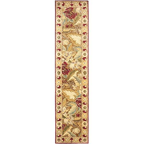 Safavieh Bergama Collection BRG106A Handmade Multicolored Premium Wool Runner (2'3