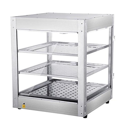 KOVAL Commercial 3 Tier Food Warmer Display Case Pizza Cabinet by KOVAL INC. (Image #1)