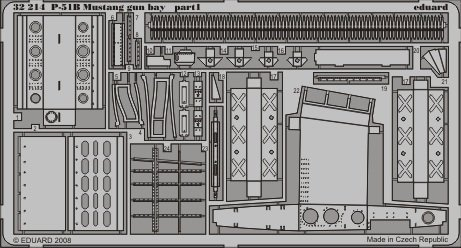 P-51B Mustang Gun Bay for TSM 1-32 Eduar - Mustang Gun Bay Shopping Results