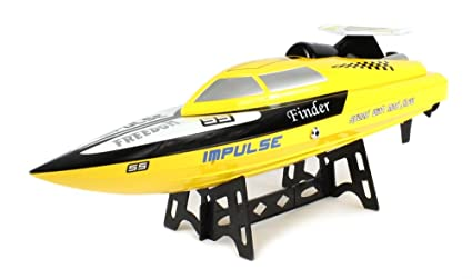 Amazoncom Impulse Freedom SS Electric RC Speed Boat 24GHz 15 MPH