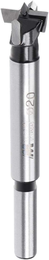 8mm x 30mm Schaft DE de sourcing map Forstner Bohrer Holz Lochschneider 20mm Durchmesser