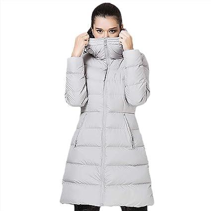 Down jacket Abajo Chaqueta_al Aire Libre De La Mujer Ganso OtoñO E Invierno Abrigo Ultraligero con