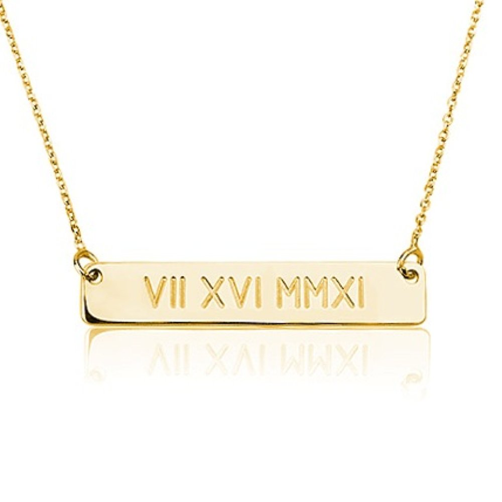 necklace plating gifts white chains p name village esha karat plated asp gold
