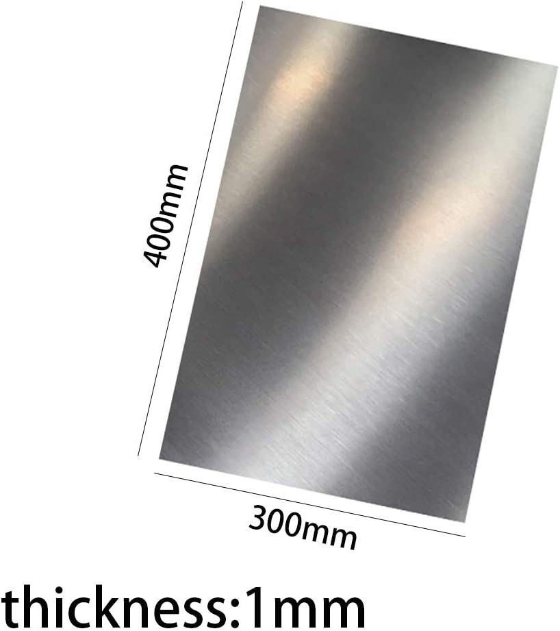 Width 400Mm,1x300x400mm Length 300Mm LEISHENT Stainless Steel Plate Sheet Thickness 0.5Mm to 1Mm