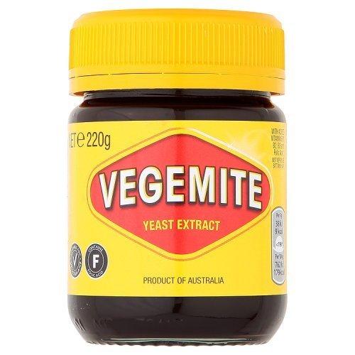 Vegemite (4 - 220 Gram Jars) - B Vitamins Vegemite