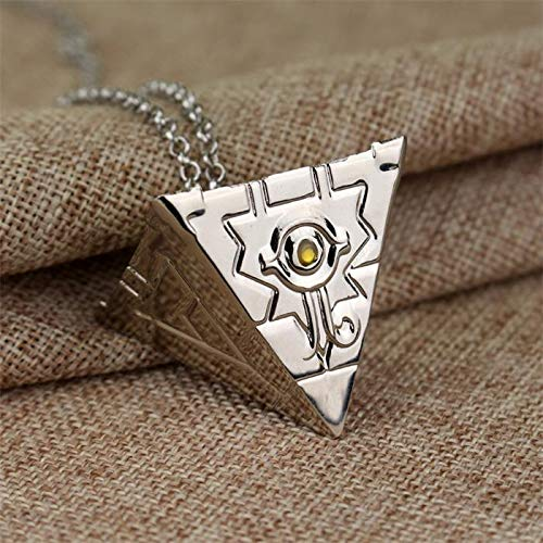 Algol - Game 3D Yu Gi Oh Pyramid Egyptian Eye Of Horus Yu-Gi-Oh Necklace Anime Yugioh Millenium Pendant Necklace