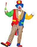 On the Town Clown Costume - Adult Std.