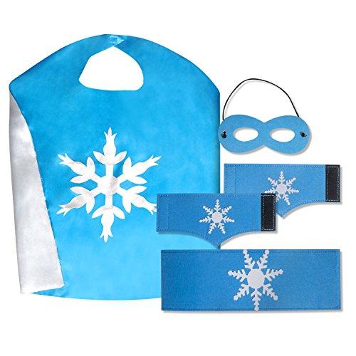 Blue-Silver Elsa Frozen - Silver Age Flash Costume