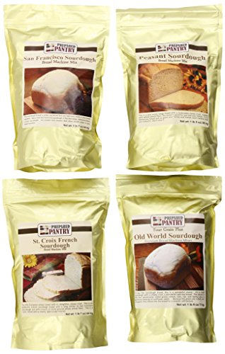(The Prepared Pantry Sourdough Lover's Collection Of Bread Mixes, 92 Ounce)