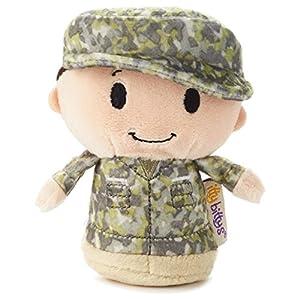 Hallmark itty bittys Green Soldier Boy Stuffed Animal Camo Itty Bitty