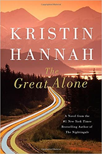 Image result for The Great Alone book cover