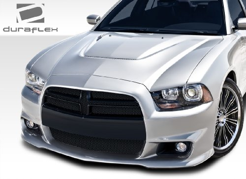 Brightt Duraflex ED-TTZ-999 Look Front Bumper Cover - 1 Piece Body Kit - Compatible With Charger 2011-2014