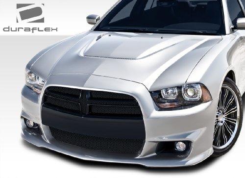 2011-2014 Dodge Charger Duraflex SRT Look Front Bumper Cover - 1 Piece Dodge Charger Bumper Cover