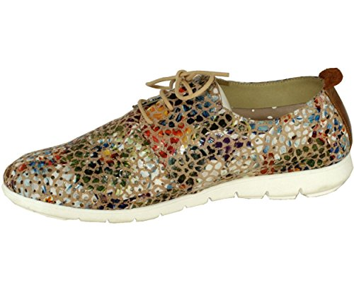 Mujer Zapatos Folie's Piel Lisa de Cordones de PRHYP