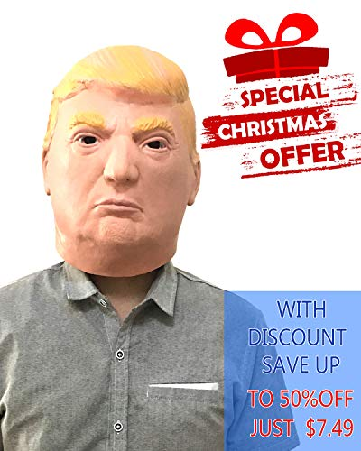 Donald Trump Mask for Parties Halloween (Style2)