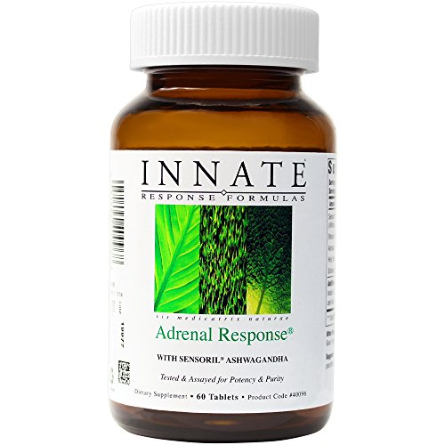 Thyroid Tablets Support 60 - INNATE Response - Adrenal Response, Supports a Healthy Stress Response, 60 Tablets