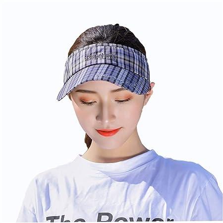 Visera Sombrero para el Sol Gorra de béisbol de tela escocesa ...
