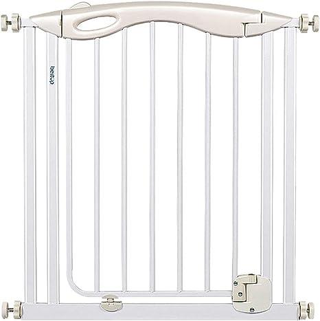 Puertas de seguridad Ajuste de presión para niños Parte superior de las escaleras Puerta de bebé Puerta de escalera retráctil con puerta Chimenea Puerta de bebé Bebé Parque infantil Adecuado: Amazon.es: Bebé