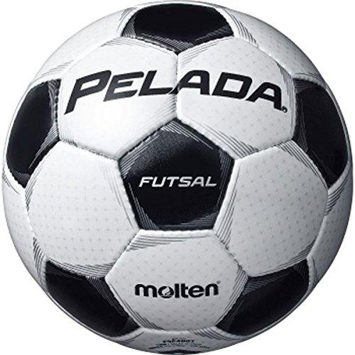 日用品 フットサルボール4号球 ペレーダフットサル シャンパンシルバー×メタリックブラック F9P4001 B07F7SRKWC