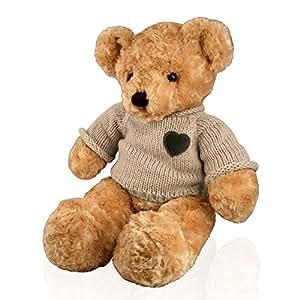 Perfect Memorials Large Teddy Bear Cremation Urn Tan
