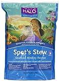 Halo Spot's Stew Natural Dry Cat Food, Sensitive Cat, Seafood Medley, 6-Pound Bag, My Pet Supplies