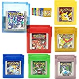 New Pokemn GBC Cartridge Collection 7-Pack