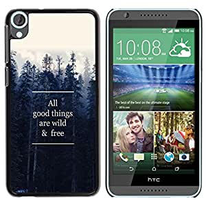 Dragon Case - FOR HTC Desire 820 - wild and free - Caja protectora de pl??stico duro de la cubierta Dise?¡Ào Slim Fit