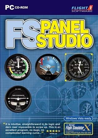 Amazon com: FS Panel Studio (PC DVD): Video Games