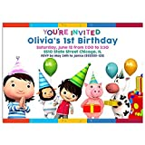 Little Baby Bum Birthday Party Invitations