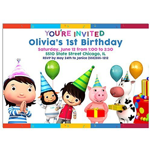 Little Baby Bum Birthday Party Invitations by Paper Blast