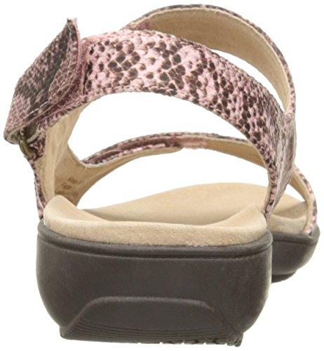 Dravers Vrouwen Kip Flat Sandaal Roze