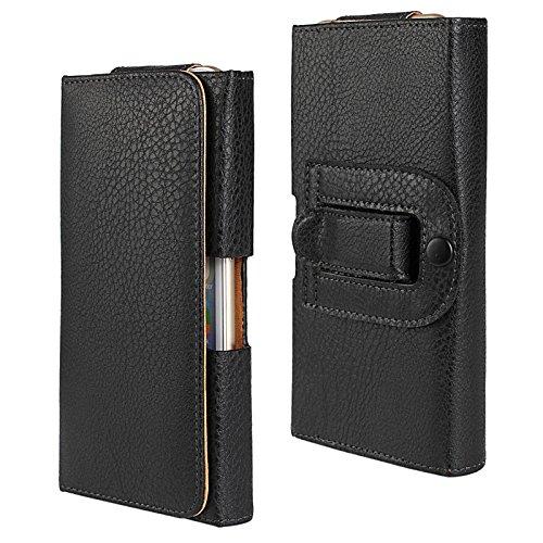 iPhone 6 Case, iPhone 7 case, Pasonomi Premium Horizontal Leather (Belt Clip Carry Case)