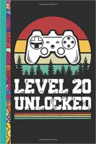 Level 20 Unlocked Happy 20th Birthday 20 Years Old Gift For Gaming Boys Girls Gift Ideas For 20 Year Old Boys Gifts For 20 Year Old Boys Birthday Gifts For 20 Year Old Man 20
