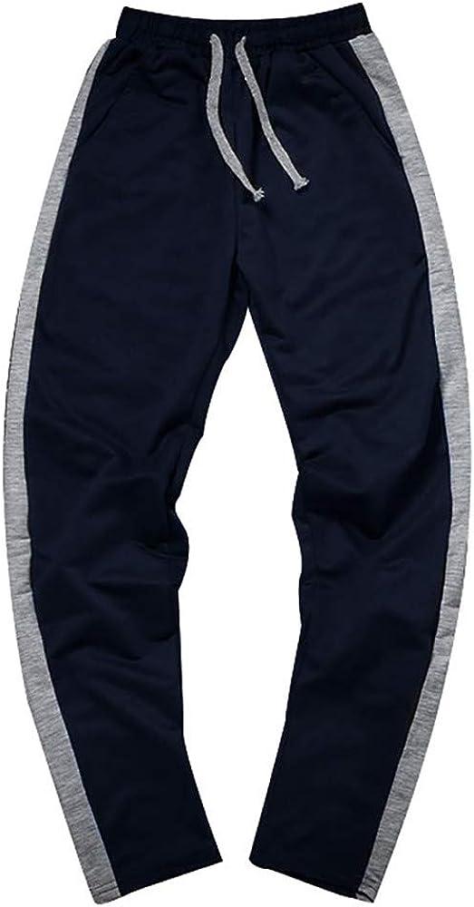 Pantalones Hombre Tallas Grande para Gimnasio Jogger con Cordón ...