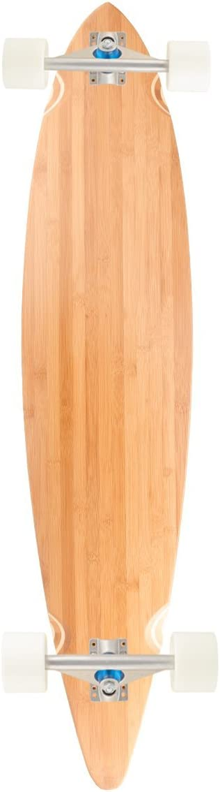 Bamboo Skateboards Pin Tail Blank Skateboard Deck