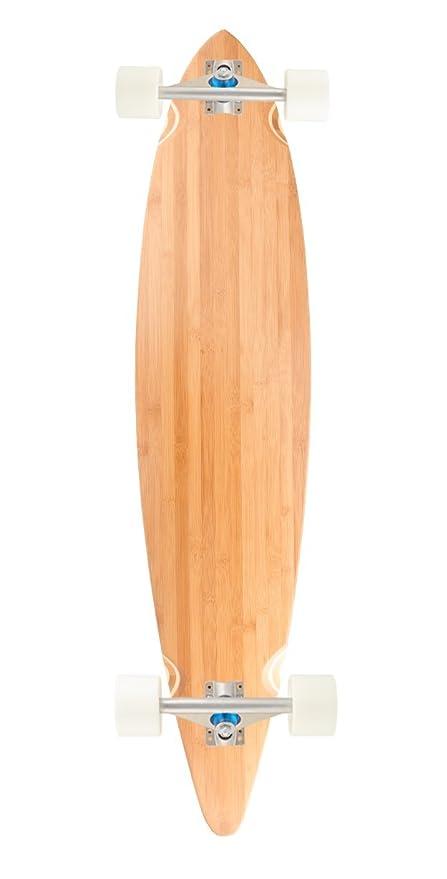 Bamboo Skateboards Pin Tail Blank Skateboard Deck