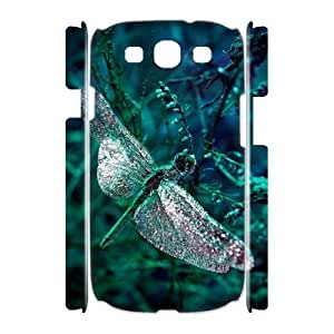 Dragonfly Brand New 3D Cover Case for Samsung Galaxy S3 I9300,diy case cover ygtg630853