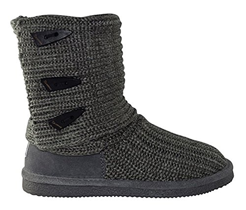 Bearpaw Frauen stricken hoch Graue Ii