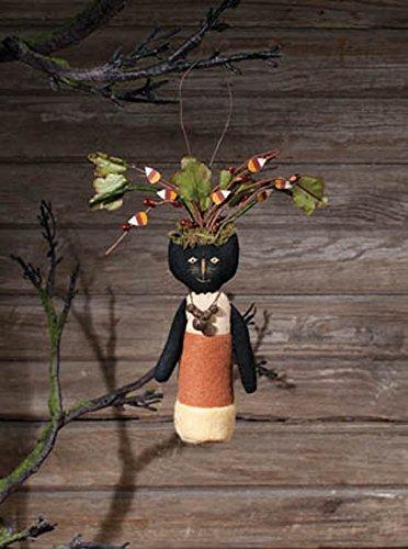 Ohio Wholesale Primitive Halloween Candy Corn Black Cat (Wholesale Primitive Halloween Decor)