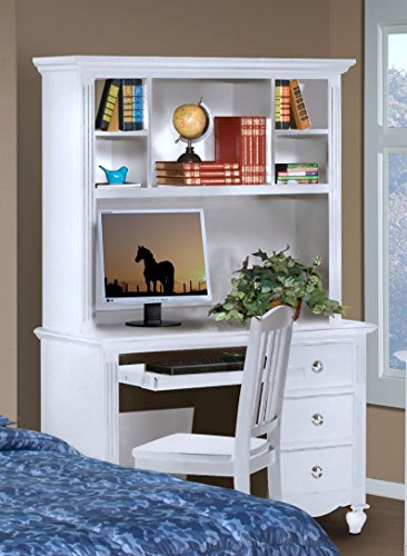 NCF Vienna Youth Student Desk & Hutch in White (Chair Vienna Kids)