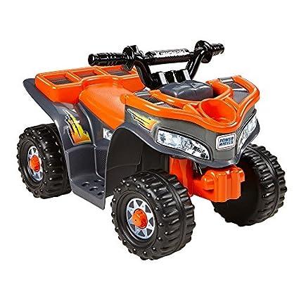Amazon com: Power Wheels Kawasaki Lil Quad Orange by Power