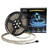 led lights changing color strip - SUPERNIGHT (TM) 16.4FT 5M SMD 5050 Waterproof 300LEDs RGB Color Changing Flexible LED Strip Light