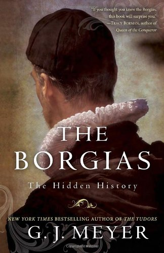 Book cover for The Borgias