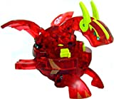 Bakugan New Vestroia Bakuneon LOOSE Single Figure Pyrus Nova 12 (Red) TRANSLUCENT Neo Dragonoid {Volta}