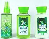 Vanilla Bean Noel Travel Size Body Care Bundle - Set of Three (3 Oz Each) 2013 Label