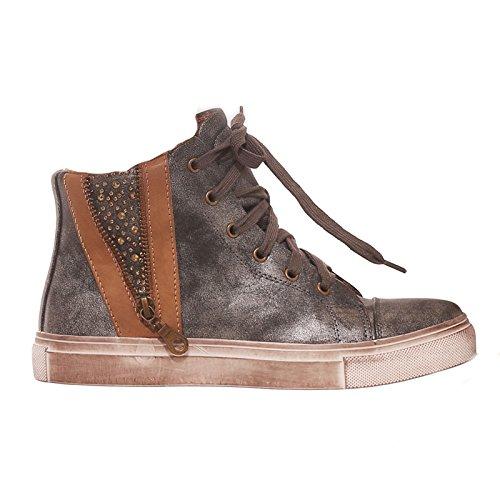 Toocool , Damen Sneaker Grau