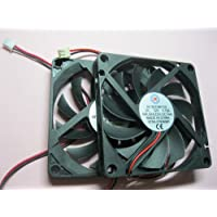 25 pcs Brushless DC Cooling Fan 12V 8010S 11 Blades 2 wire 80x80x10mm Sleeve-bearing Skywalking
